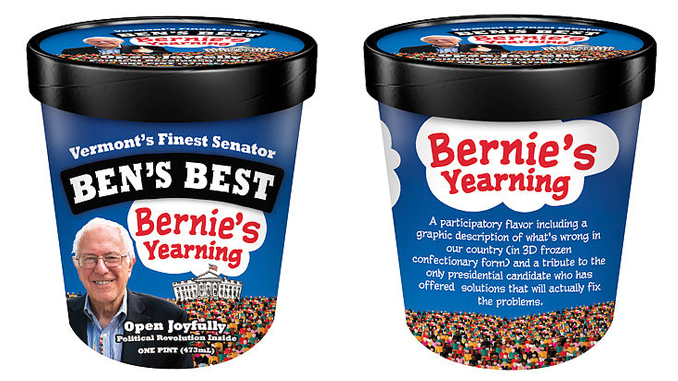 Bernie's Yearning icecream