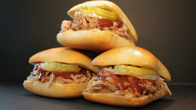 Dickey's Barbecue Pit Pulled Pork Sliders