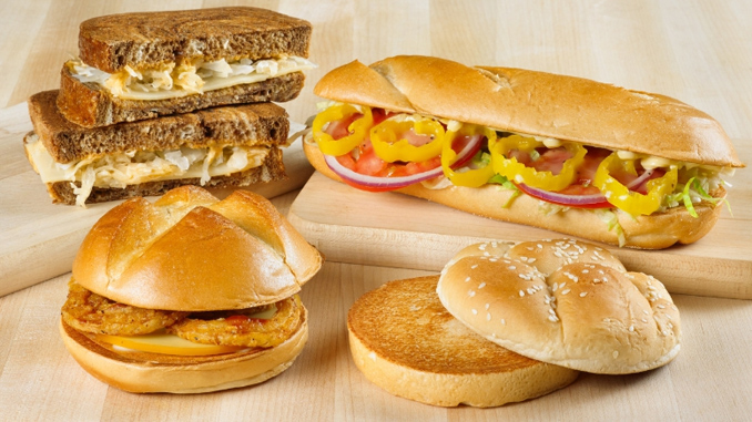 Arby's Leap Day Vegetarian Menu