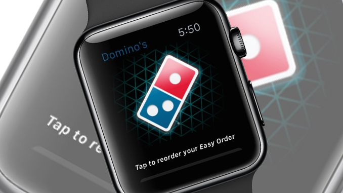 Domino's adds Apple Watch to its lineup of ordering capabilities