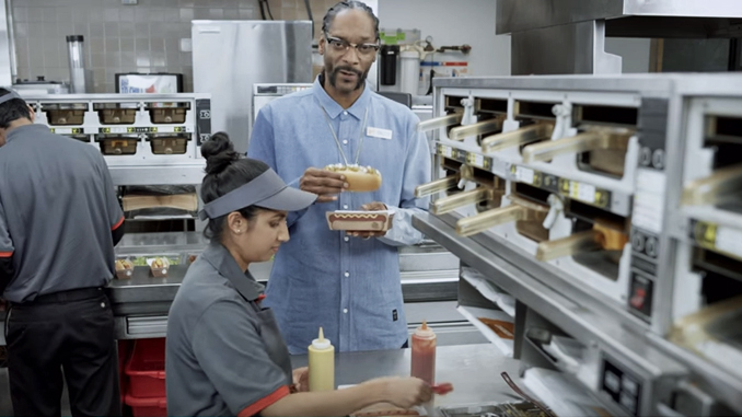Snoop Dogg Burger King Grilled Dog Training Video