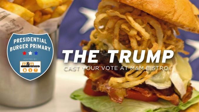The Donald Trump Burger