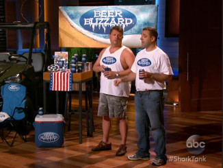 Beer Blizzard inventors score Shark Tank's Mark Cuban in chilling product pitch
