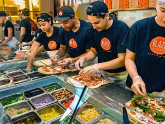 Blaze Pizza celebrating Pi Day with $3.14 pizzas on March 14, 2016