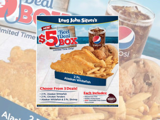 Long John Silver's new $5 Reel Deal Box will get you hooked