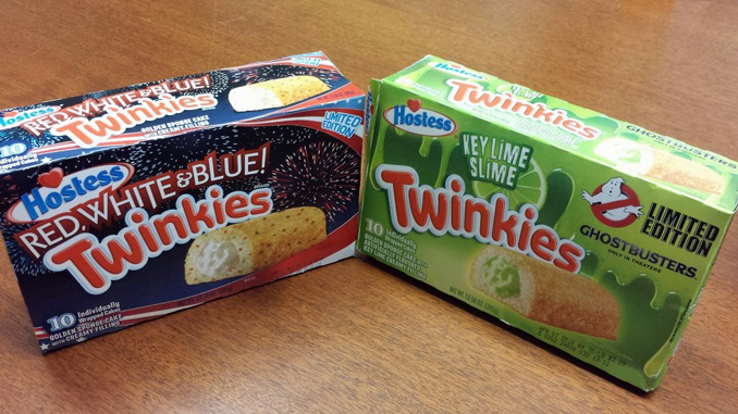 Red, White and Blue! Twinkies will go BOOM in your mouth