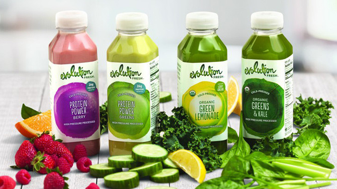 Starbucks debuts 4 new juices under the company's Evolution Fresh brand