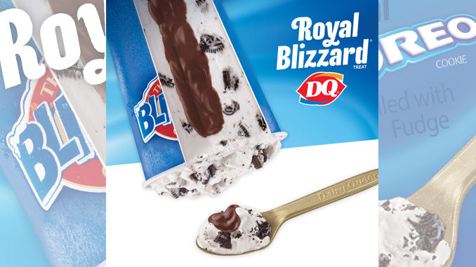 Dairy Queen's new Royal Blizzard Treat fills the void