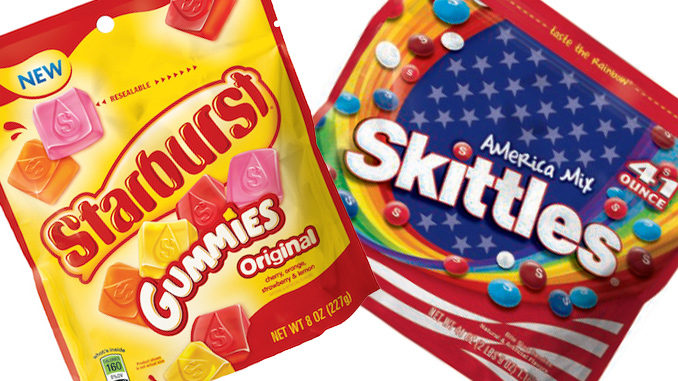 New Skittles America Mix and Starburst Gummies will get your chew on