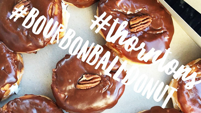 Thorntons brings back the Bourbon Ball Donut for a limited time