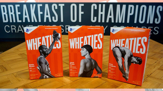 Three athletes honored with box covers in Wheaties Legends series