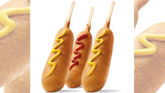 50 Cent Corn Dogs at Sonic on May 24, 2016