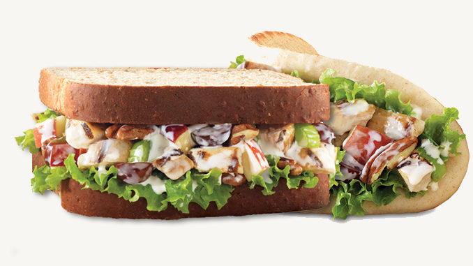 Arby's brings back the Pecan Chicken Salad Sandwich