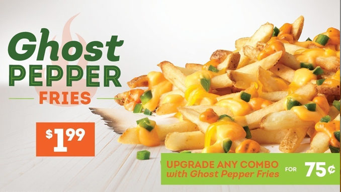 Get $1.99 Ghost Pepper Fries at Wendy's for a limited time