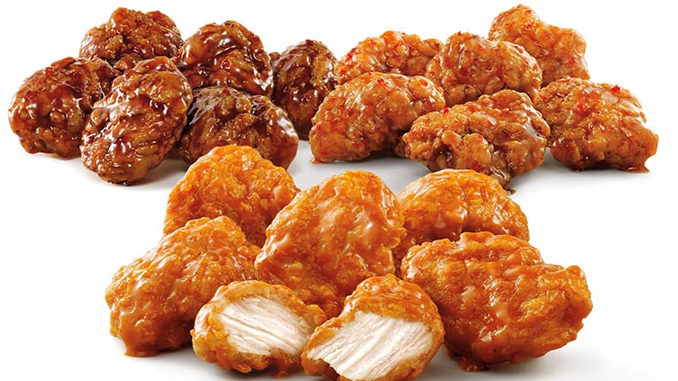Half-price Boneless Wings at Sonic on May 5, 2016