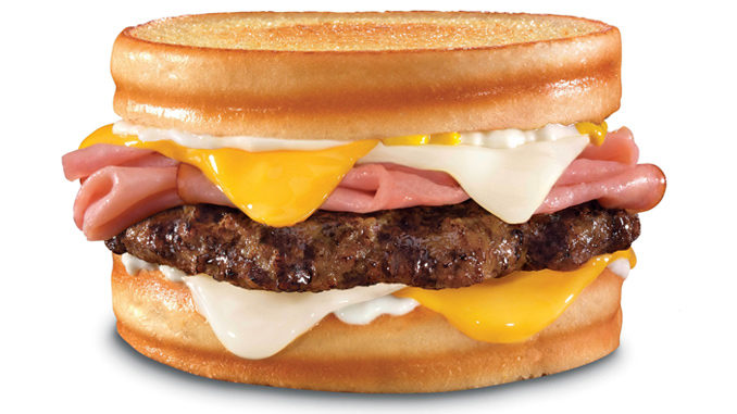 Hardee's debuts the Grilled Ham 'N' Cheese Thickburger