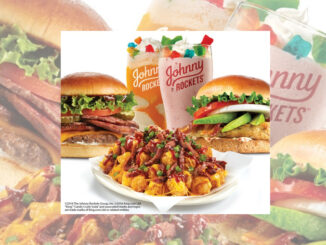 Johnny Rockets debuts BBQ Brisket Burger, BBQ Brisket Loaded Street Tots and Candy Crush Drinks