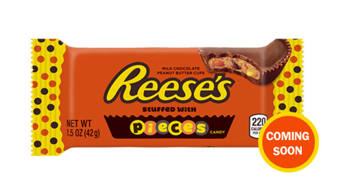 Reese's Pieces Peanut Butter Cups coming in July
