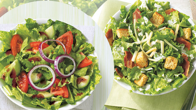 Tim Hortons adds new Garden and Caesar Fresh Salads to permanent