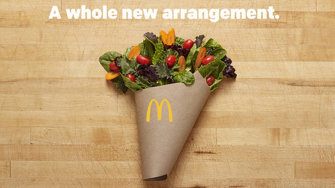 McDonald's adds red leaf lettuce, carrots to salads nationwide