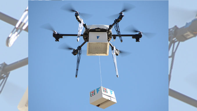Drone Delivers 7-Eleven Slurpee, Food and Candy to Customer in Reno, Nevada