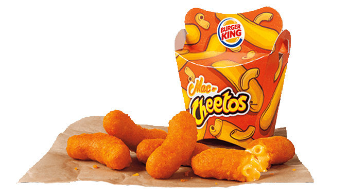 Burger King launches new Mac n' Cheetos