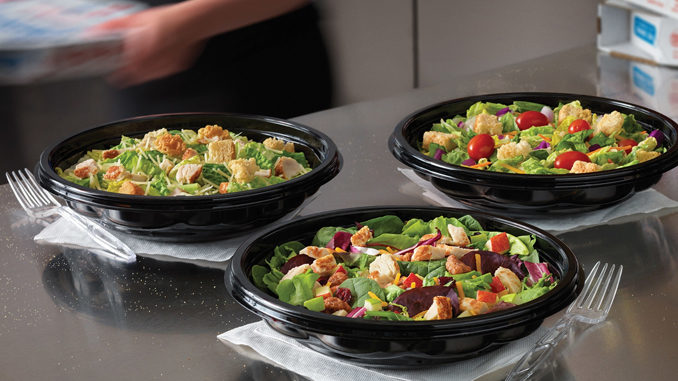 Domino's Now Delivering Salads Nationwide