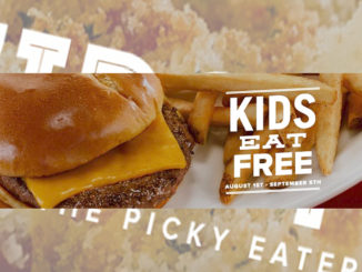 Kids Eat Free at O'Charley's Until September 5, 2016