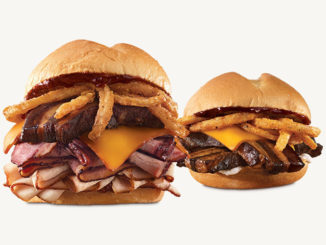 Arby's Adds New Smoke Mountain And Smokehouse Pork Belly Sandwiches