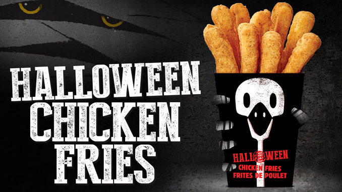 Burger King Launches Halloween Chicken Fries Boxes In Canada