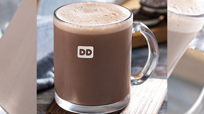 Dunkin Donuts Introduces New Oreo Flavored Hot Chocolate