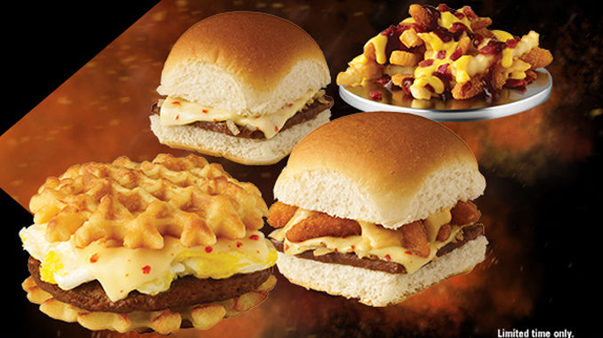 White Castle Debuts New X-Menu Lineup Featuring Spicy Sliders And Loaded Fries