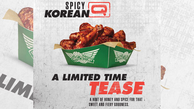 Wingstop Brings Back Spicy Korean Q Wing Sauce