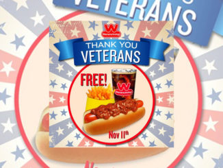 Free Chili Dog Meal For Veterans At Wienerschnitzel On November 11, 2016