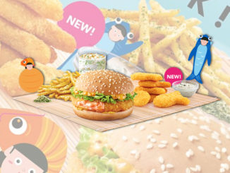 McDonald's Offers New Fish Dippers, Seaweed Fries And Shrimp Burger In Singapore