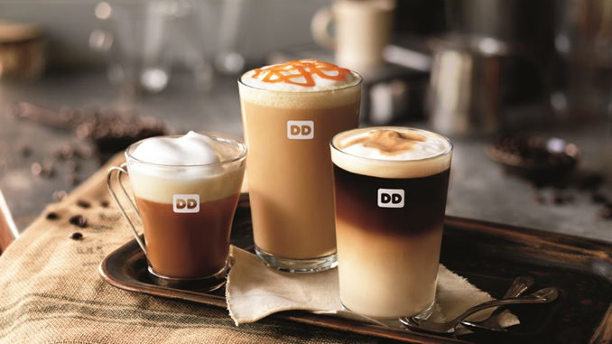 $1.99 Hot And Iced Espressos At Dunkin' Donuts On November 23, 2016