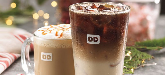Dunkin' Donuts Holiday Beverages 2016