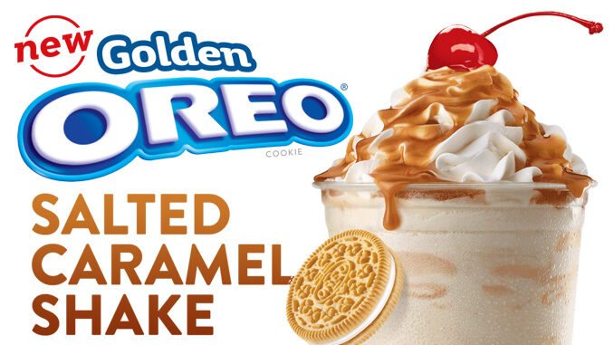 ... In The Box Rolls Out New Golden Oreo Salted Caramel Shake - Chew Boom