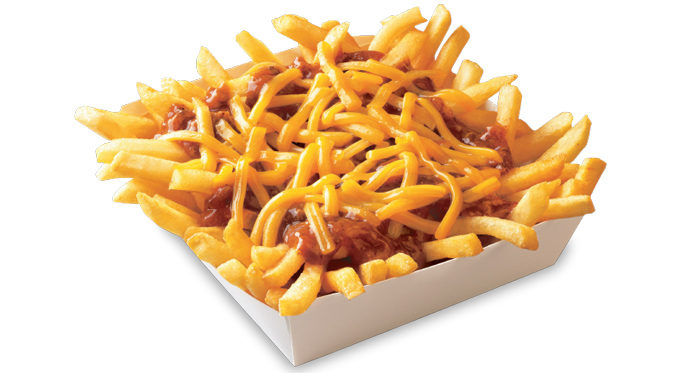 99 Cent Chili Cheese Fries At Wienerschnitzel On January 1, 2017