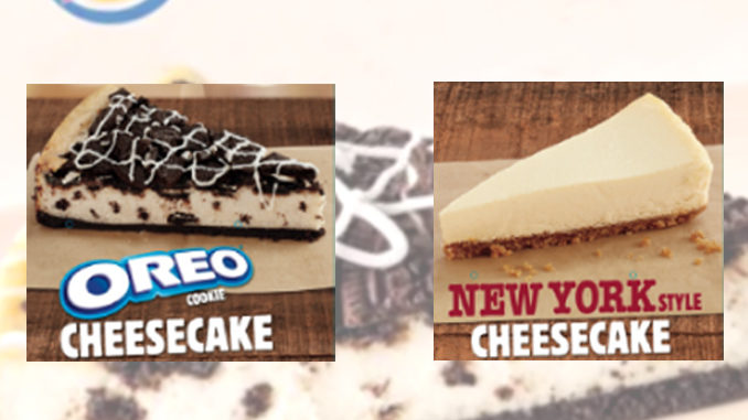 Burger King Serving Up New Oreo And New York Style Cheesecakes