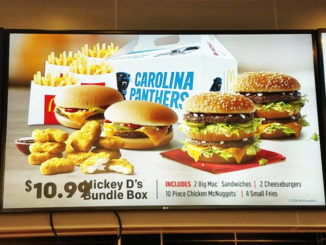 McDonald's Serves Up Carolina Panthers Mickey D's Bundle Box In North Carolina