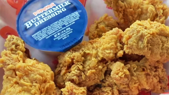 Review – Popeyes Classic Cajun Wings With New Buttermilk Dressing