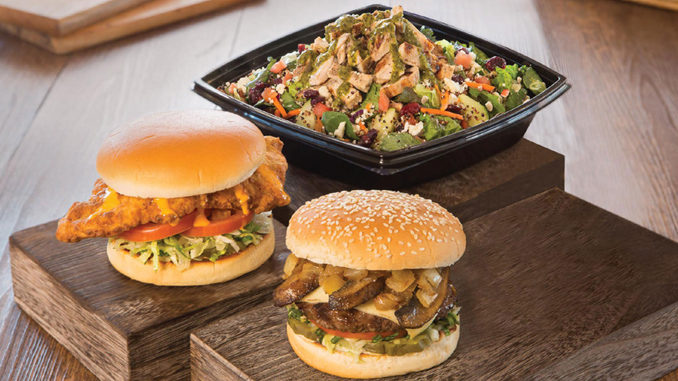 The Habit Adds Golden Fried Chicken Sandwich, Portabella Charburger And Super Food Salad To Menu