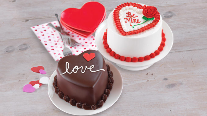 Baskin-Robbins Unveils 2017 Valentine's Day Lineup Featuring New Heart-Shaped Ice Cream Cakes