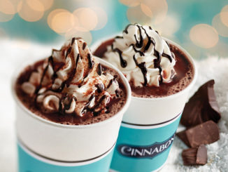 Cinnabon Introduces Two New Hot Cocoas