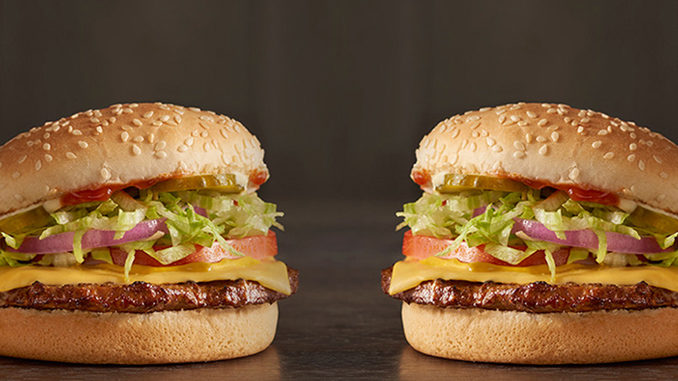 Get 2 Checkerburgers With Cheese For $3 At Checkers And Rally's For A Limited Time