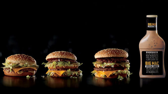 Here's How To Score A Bottle Of Big Mac Special Sauce On January 26, 2017