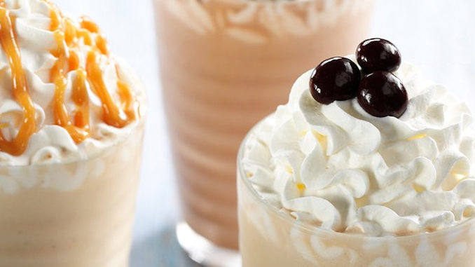 Krispy Kreme Canada Serves Up New Frōzzé Frozen Drinks