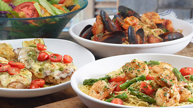 Menu For Olive Garden: Olive Garden Introduces New Tastes Of The Mediterranean