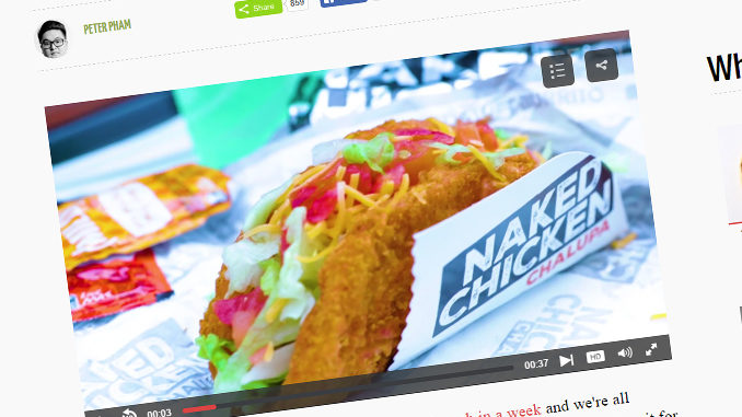 Taco Bell's New Naked Chicken Chalupa Is PG Rated – Pretty Good
